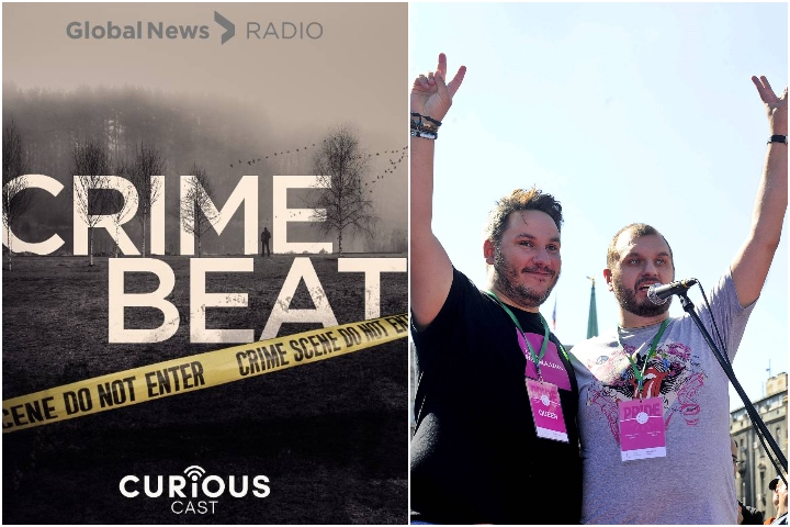 Global Calgary has won two awards for a true-crime podcast from reporter Nancy Hixt and a special series honouring the city's LGBTQ2 community from reporter Jill Croteau.