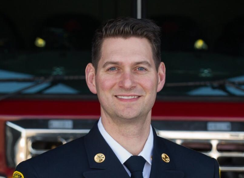 The City of Edmonton announced Joe Zatylny as the city's new fire chief on Tuesday, May 12, 2020.