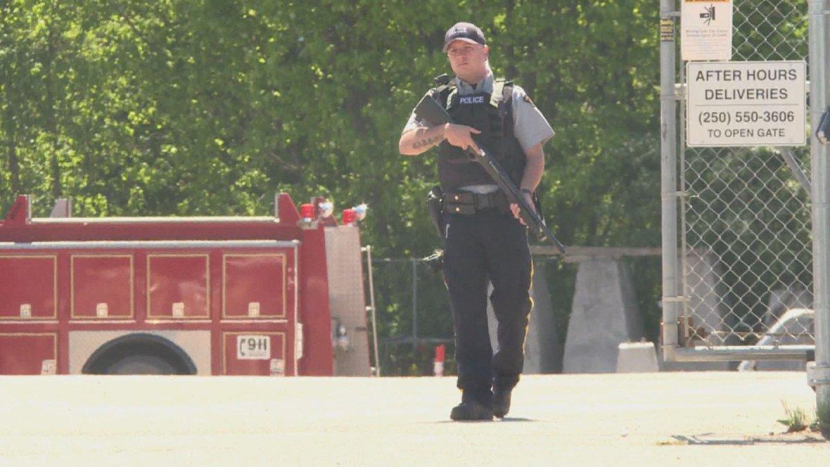 RCMP investigate suspicious incident at Vernon's public works yard - image