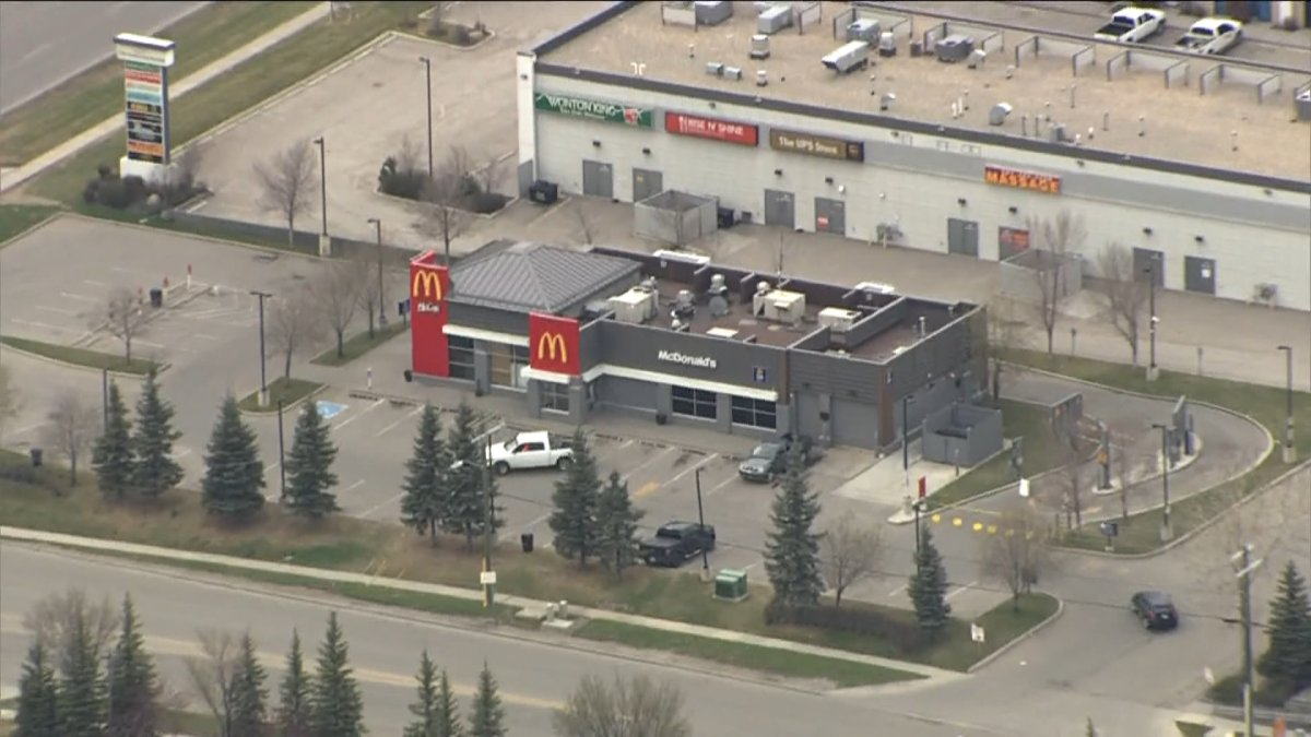 The McDonald's at 5326 72 Avenue S.E. in Calgary, Alta., pictured on Monday, May 11, 2020.