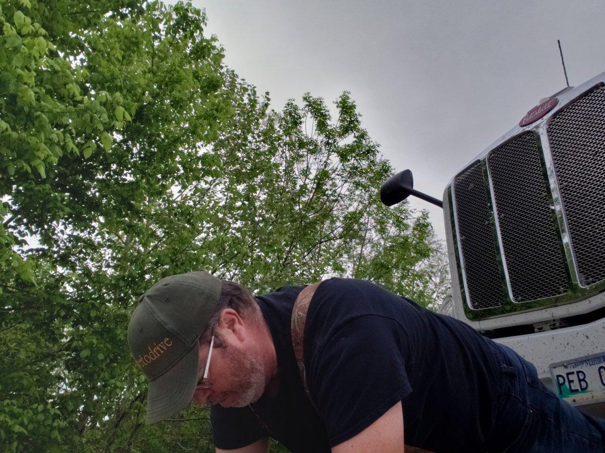 Manitoba trucker David Henry.