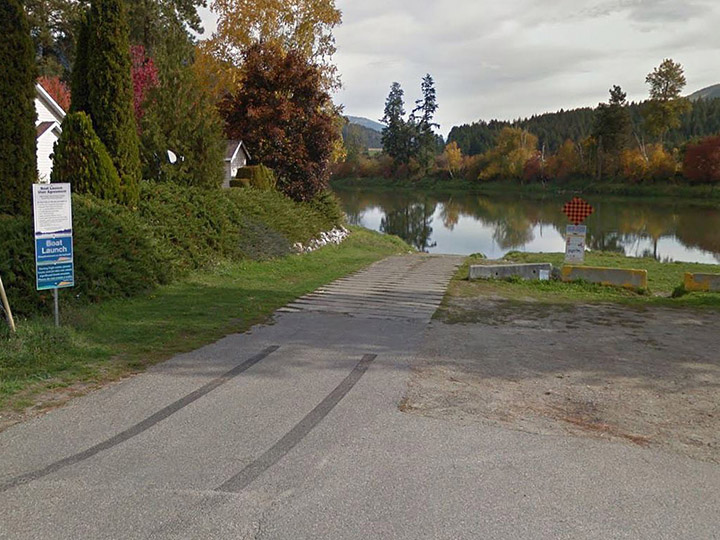 The City of Enderby says the weekend weather forecast is calling for rain, which will cause the Shuswap River to swell. As a result, the city said the Kildonan Avenue boat launch has been closed.