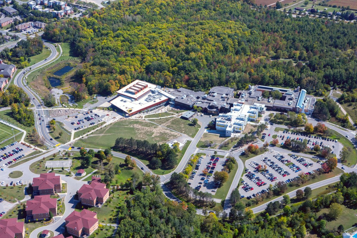 Fleming College (shown) and Trent University in Peterborough are receiving provincial funding to boost virtual learning projects.