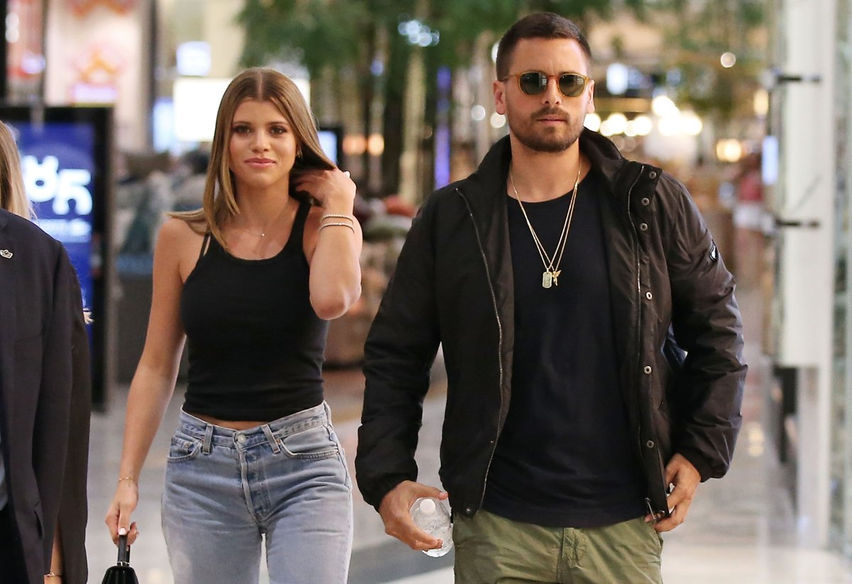 Scott Disick and and Sofia Richie make a store appearance at Windsor Smith at Chadstone Shopping Centre on Nov. 1, 2018 in Melbourne, Australia.
