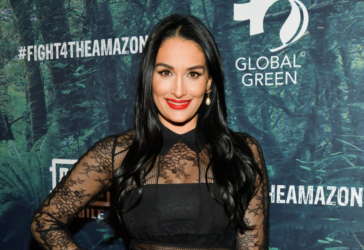 Nikki Bella attends the PUBG Mobile's #FIGHT4THEAMAZON Event at Avalon Hollywood on December 09, 2019 in Los Angeles, California.