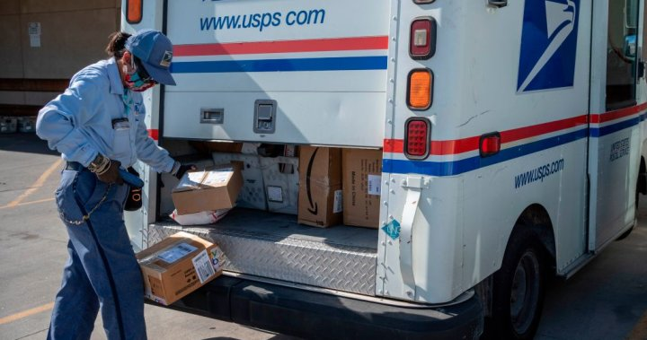 U.S. Postal Service warns most states of delays in mail-in ballot deliveries