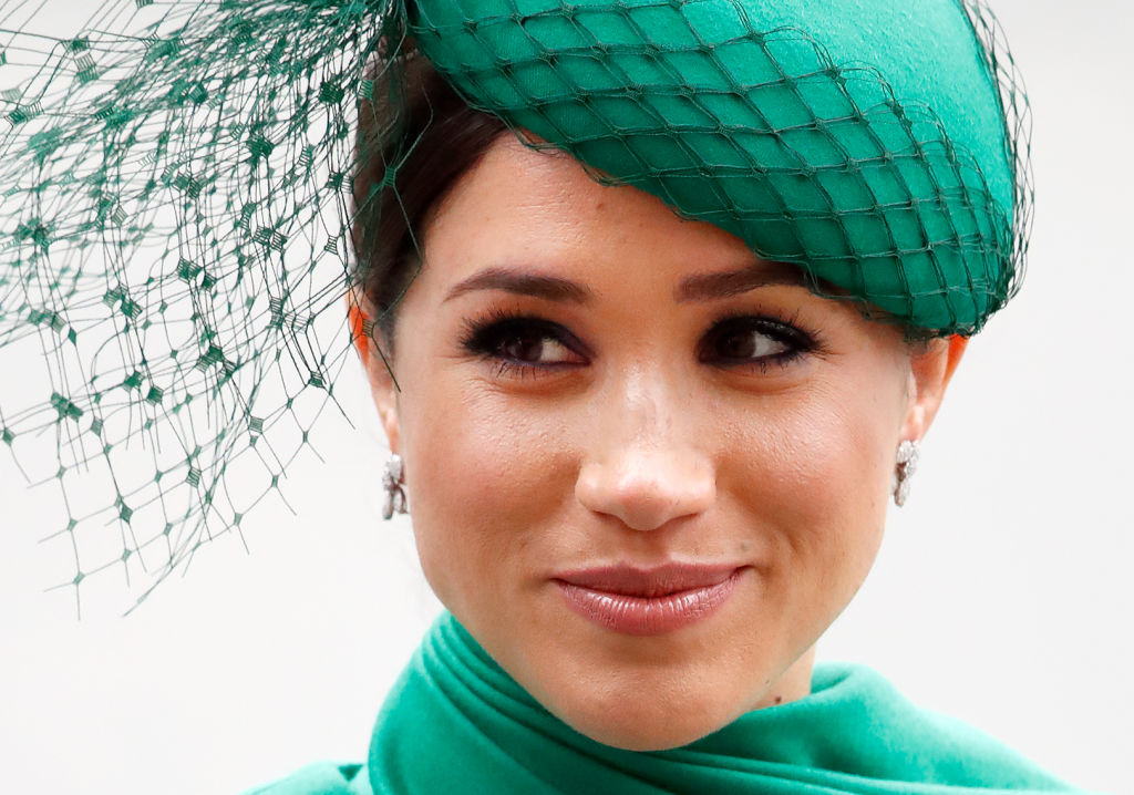 Meghan Markle attends the Commonwealth Day Service 2020 at Westminster Abbey on March 9, 2020 in London, England.