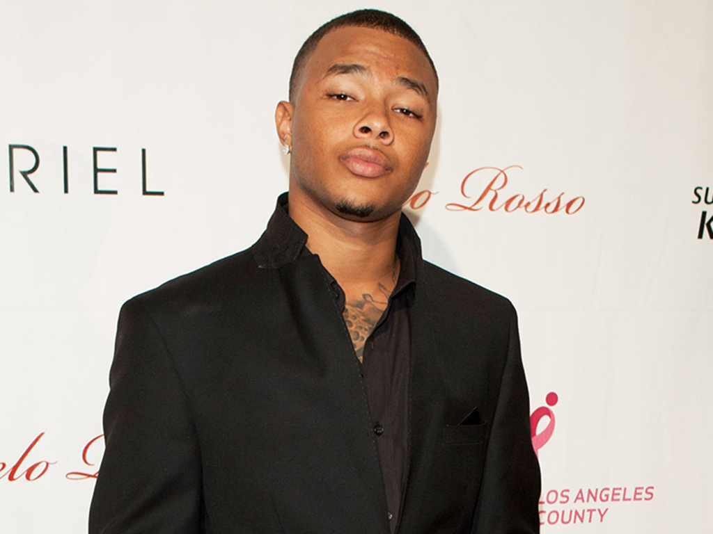 Gregory Tyree Boyce attends LA Fashion Week Fashion Minga 2012 Event at Exchange LA on Oct. 18, 2012 in Los Angeles, Calif.