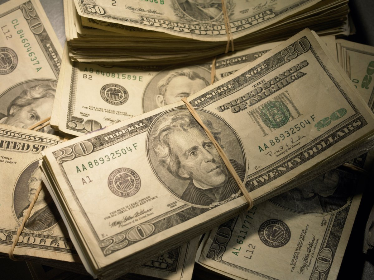 A Virginia family was on a Saturday drive when they found two bags full of nearly $1-million cash.