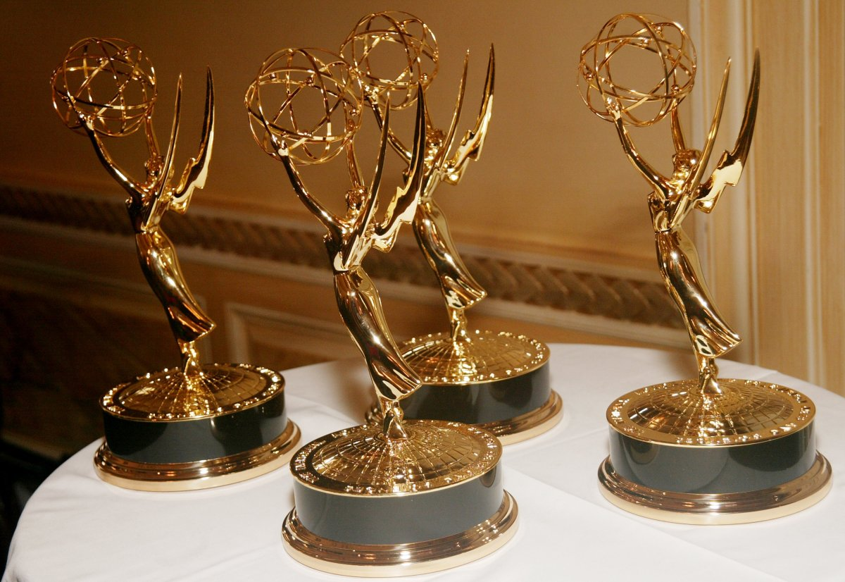 Emmys at the First Annual News & Documentary Emmy Awards for Business & Financial Reporting at a private club Dec. 4, 2003 in New York City.