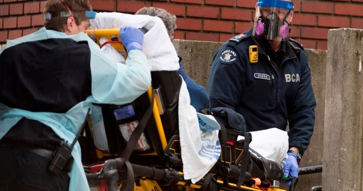 Study raises concerns sick British Columbians aren't calling 911 out of COVID-19 fears