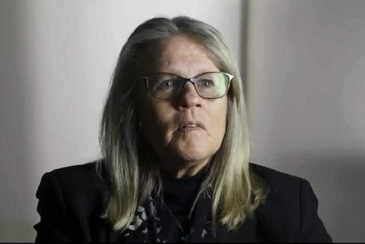 Judy Mikovits is shown in a screenshot from the documentary 'Plandemic.'.