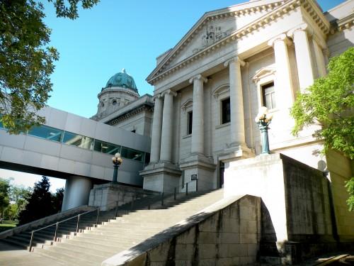 The Manitoba Law Courts Complex.