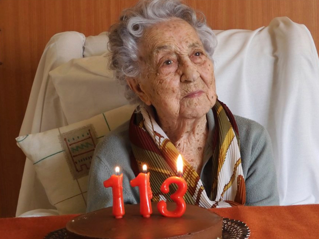 Maria Branyas, believed to be Spain's oldest woman, survived the Spanish flu, the country's civil war and coronavirus.