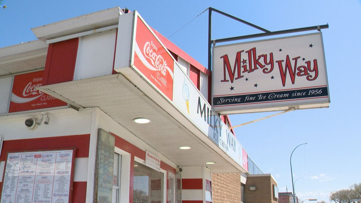 One of Regina's most popular ice cream shops, Milky Way, officially opened for the 2021 spring and summer season on Thursday.