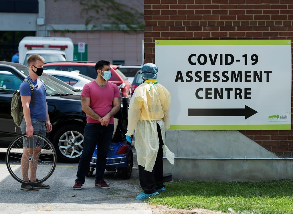 """The report also found that testing rates were lower for immigrants and refugees when compared to Canadian-born and long-term residents, with the exception of Ontario immigrants who are classified as """"economic caregivers.""""."""