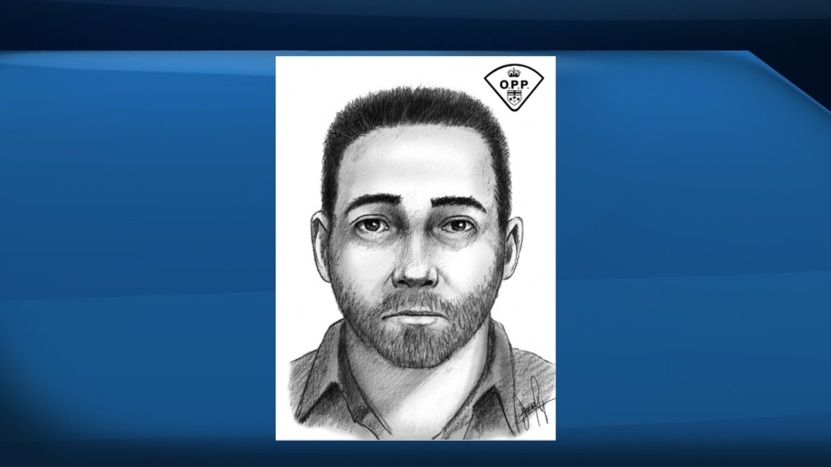 OPP have released a composite sketch of a man they believe to be impersonating a police officer in Wellington County.