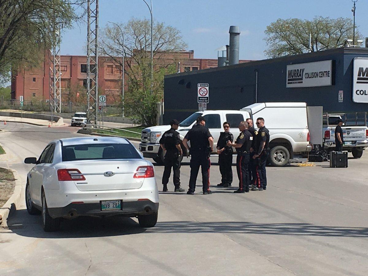Police on scene addressing a 'suspicious circumstance'.