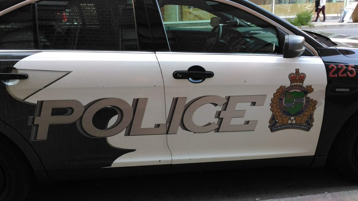 Niagara police have arrested two men after a truck and other items were stolen from a building.