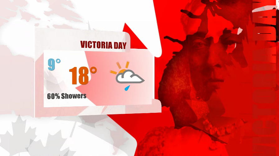 Rain rolls back into the Okanagan weather forecast this Victoria Day long weekend.