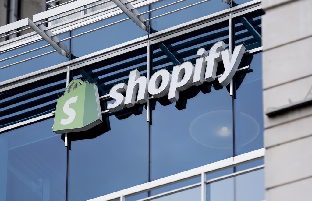 The Ottawa headquarters of Canadian e-commerce company Shopify are pictured on Wednesday, May 29, 2019.