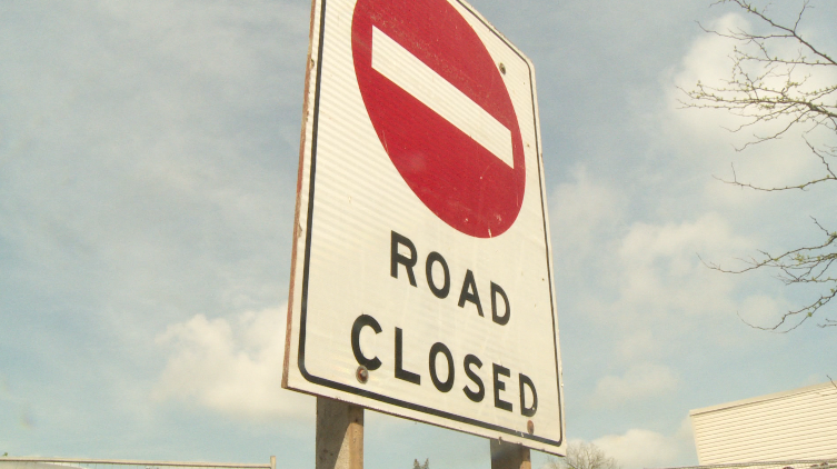 Construction will close a stretch a Guelph's College Avenue for 10 weeks.