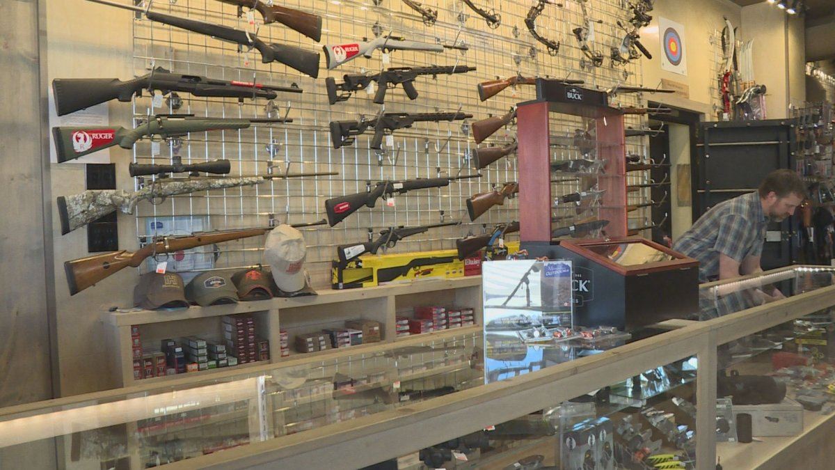 "One Conservative MP for B.C., told Global News ""we have a lot of firearms groups and hunters that are legitimately questioning why certain guns are on there and why certain ones are not.""."