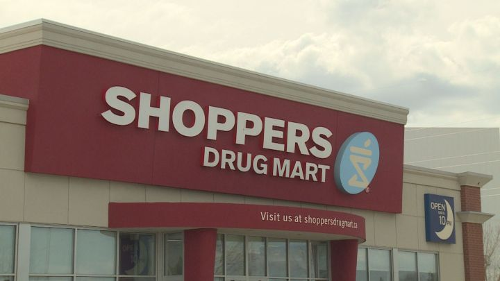 File photo of a Shoppers Drug Mart.
