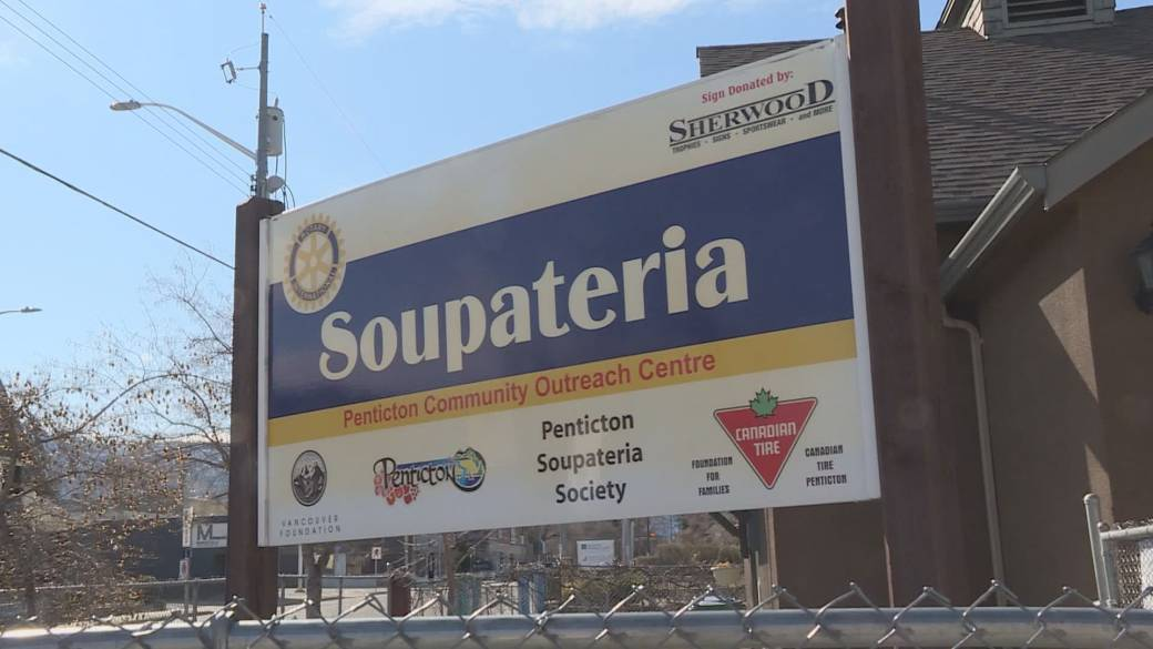 The Penticton Soupateria is one of the 11 recipients of funding to help people impacted by the pandemic.
