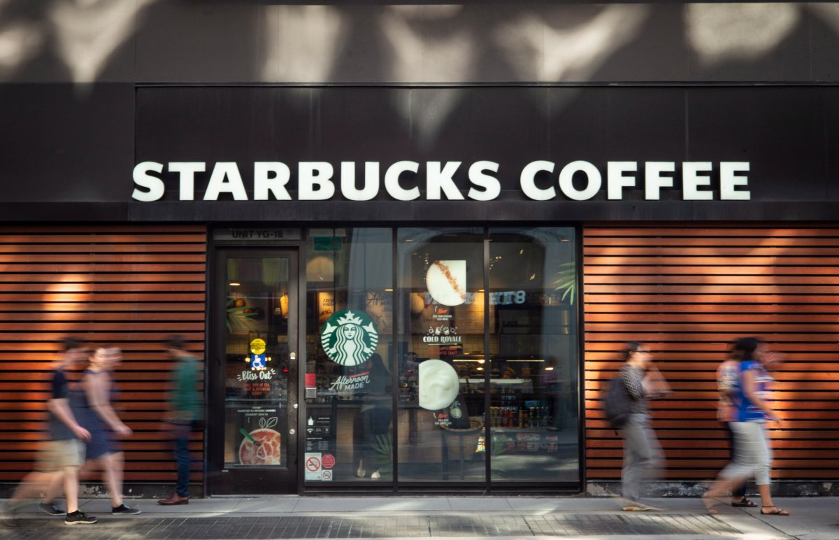 Starbucks Canada plans to reopen 85 per cent of its .