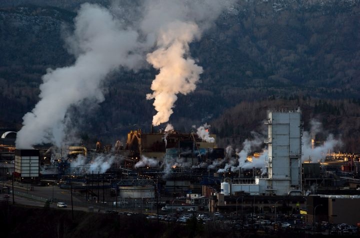 Teck Mining Company's zinc and lead smelting and refining complex is pictured in Trail, B.C., on Monday November 26, 2012.
