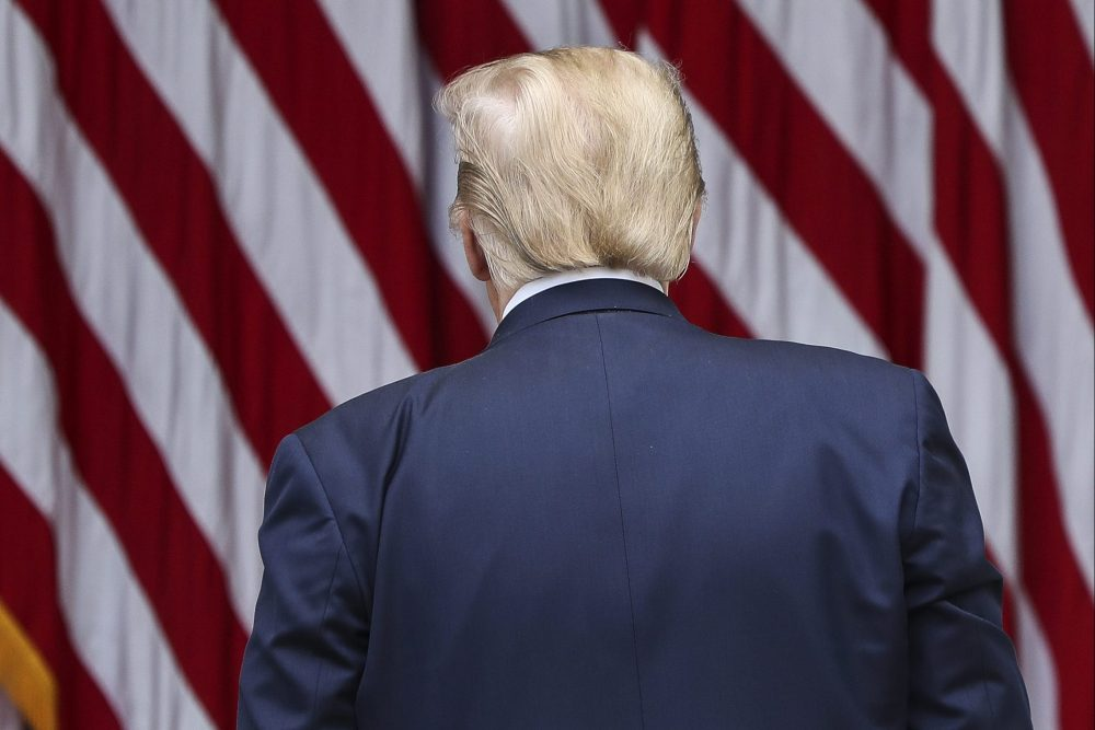 Donald Trump bails on press conference when challenged by female reporters - National  | Globalnews.ca