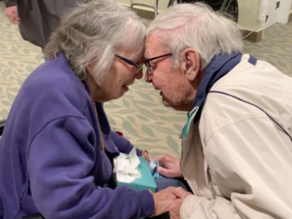 Walter Willard, 91, and Jean Willard, 89, were inseparable for their 70-year marriage. They just reunited after the coronavirus separated them for months.