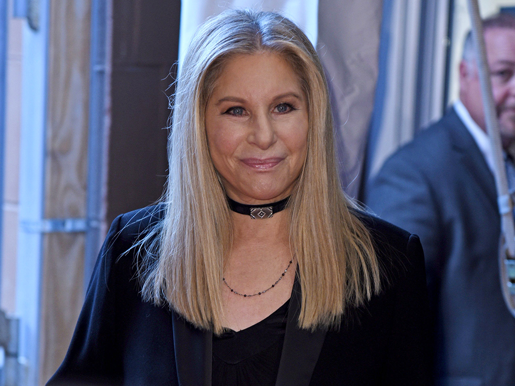 Barbra Streisand in attendance for 'Tribeca Talks: Storytellers at the 2017 Tribeca Film Festival' at the BMCC Tribeca Performing Arts Center in New York City on April 29, 2017.