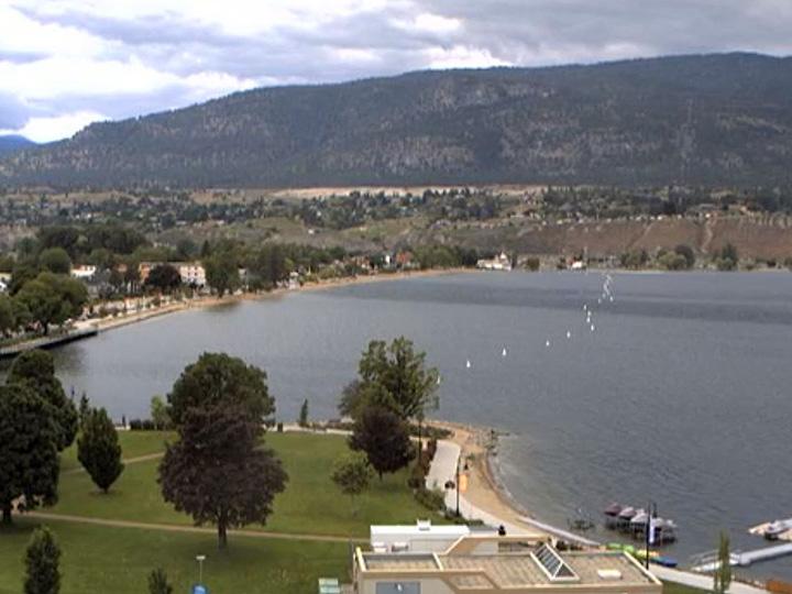 A 53-year-old man drowned in Okanagan Lake on Monday.