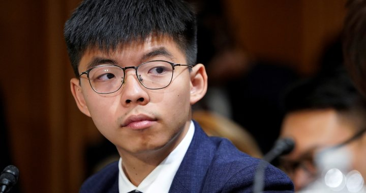Hong Kong activist Joshua Wong sentenced to jail for 2019 anti-government protest