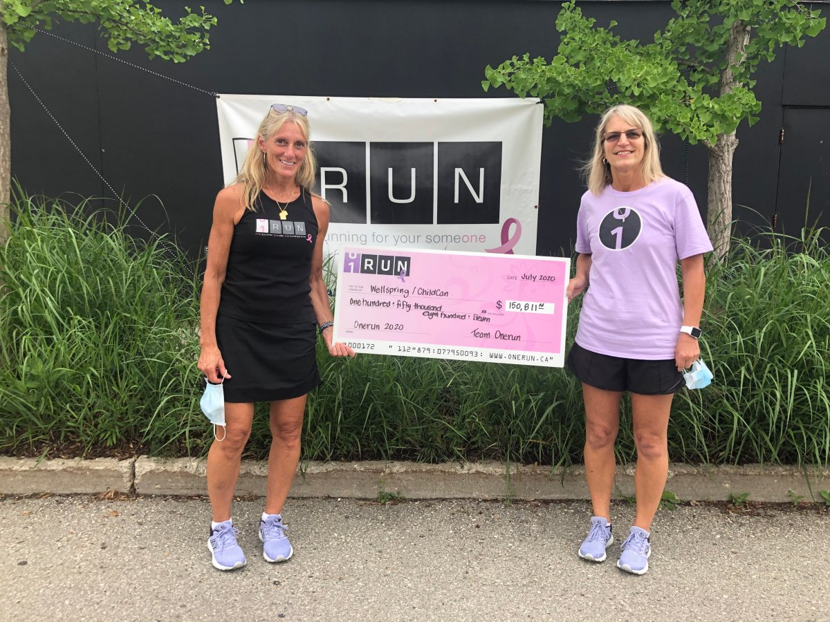 While the 10th ONERUN had to make some changes due to the pandemic, the fundraiser still brought in over $150,000.