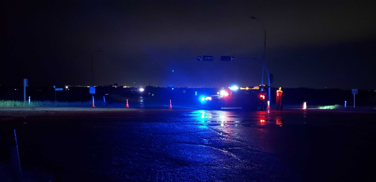 Edmonton police are investigating after a collision northeast of Edmonton killed two people on Friday evening.