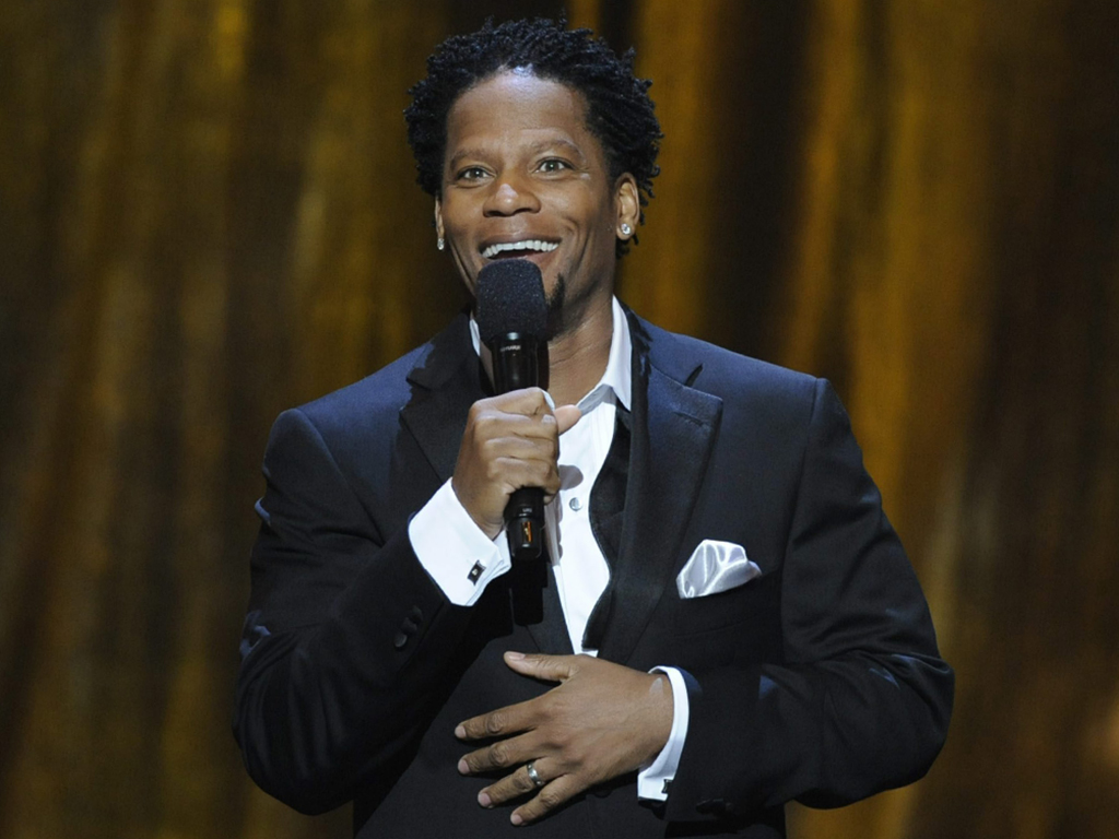 D.L. Hughley hosts the 39th NAACP Image Awards on Thursday, Feb. 14, 2008, in Los Angeles, Calif.