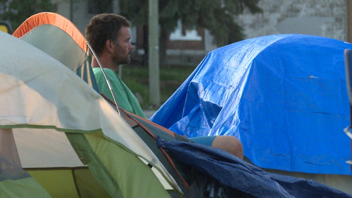 The city of Kingston said bylaw officer mistakenly gave written eviction notices to Belle Park campers on Tuesday.