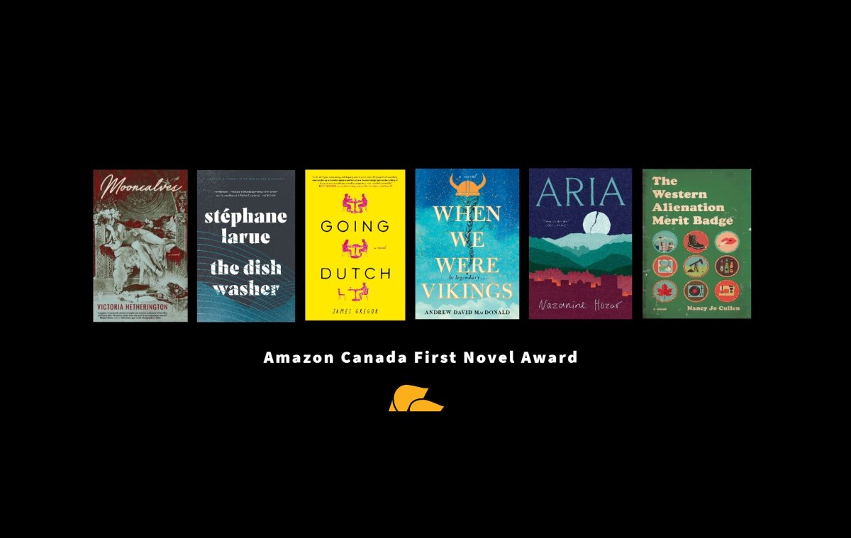 The First Novel Award was established in 1976. Six writers are vying for this year's award.