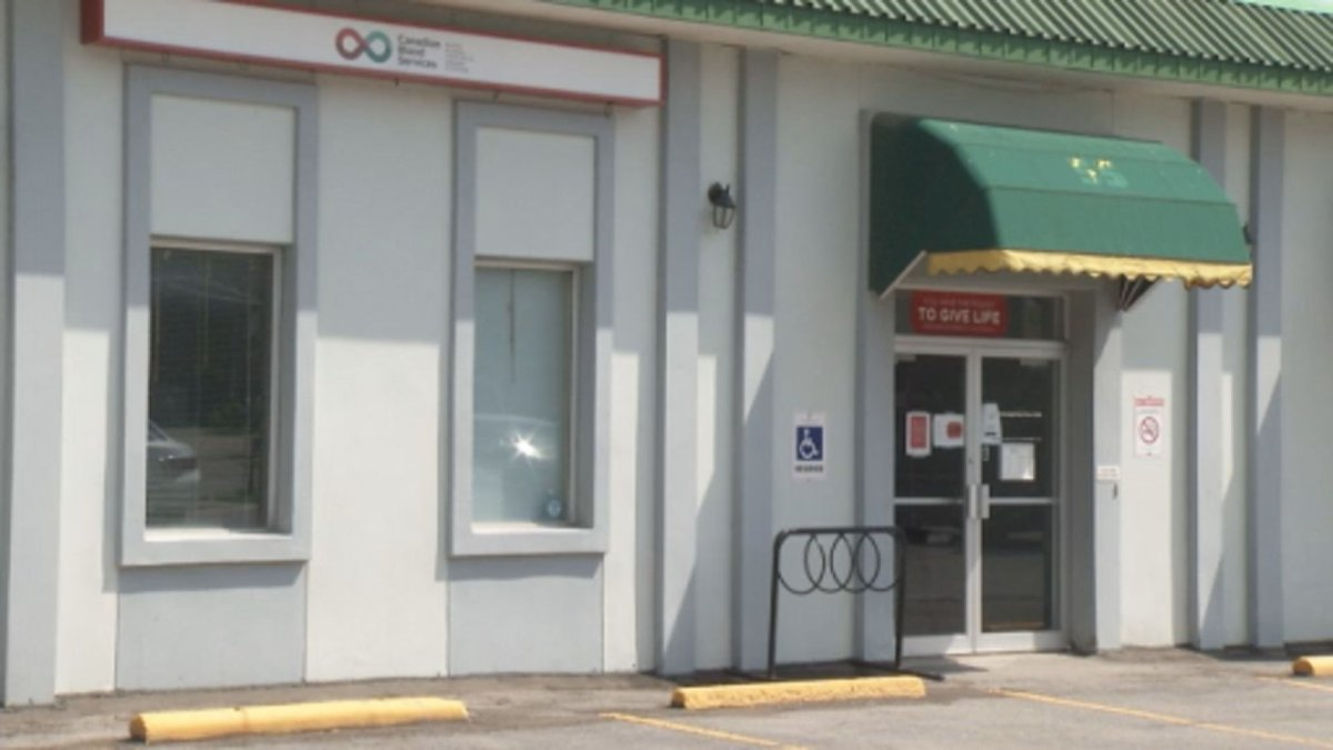 Canadian Blood Services in Peterborough, Ont., needs to fill more than 100 appointments in June.