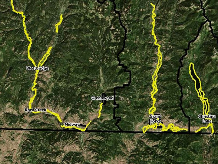 The Regional District of Kootenay Boundary says the potential threat of flooding in the Boundary area has diminished at this time.