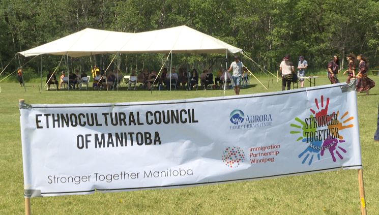 The Enthnocultural Council of Manitoba's 1st annual Multicultural Day event.