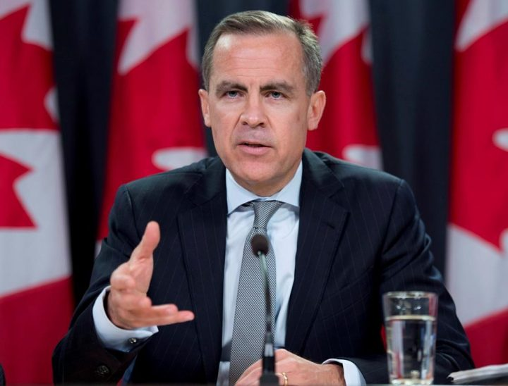 Bank of Canada Governor Mark Carney responds to a question during a news conference Wednesday April 17, 2013 in Ottawa. Former Bank of Canada governor Mark Carney is releasing a new book laying out his vision for a more equitable post-pandemic economy. THE CANADIAN PRESS/Adrian Wyld.