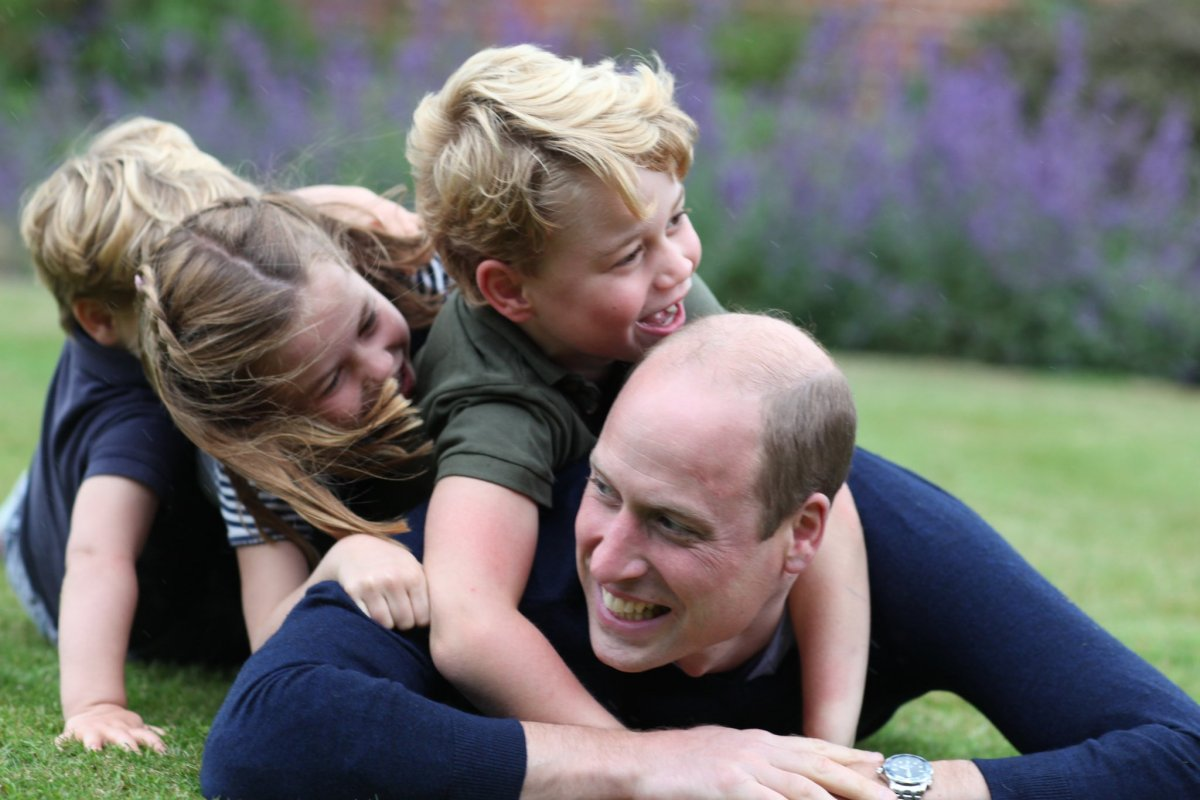 Royal Family releases new photos to mark Father's Day, Prince William's birthday - image