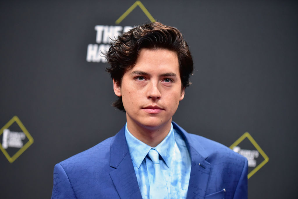 Cole Sprouse attends the 2019 E! People's Choice Awards at Barker Hangar on Nov. 10, 2019 in Santa Monica, Calif.