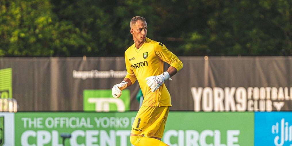 Goalkeeper Matthew Silva has signed with Valour FC.