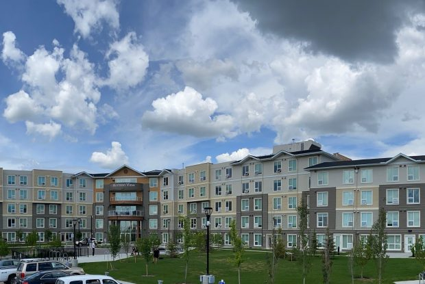 Horizon View affordable housing development reached completion in Calgary in June 2020.