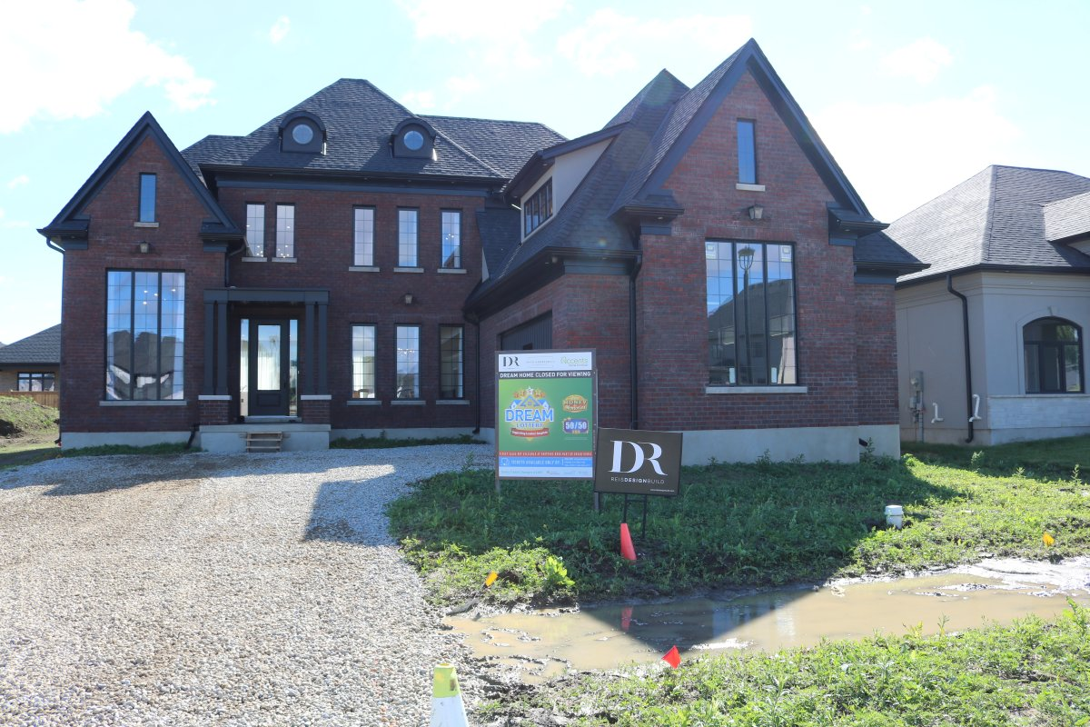 Dream Lottery officials unveiled the 4,114 sq. ft. luxury home Thursday at 3536 Grand Oak Crossing with a total value of $1.6M.